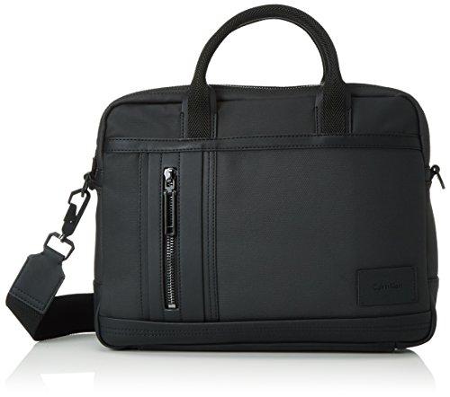 Calvin Klein Jeans Herren Ethan 2.0 Laptop Henkeltaschen, Schwarz (Black 001 001), 30x38x8 cm