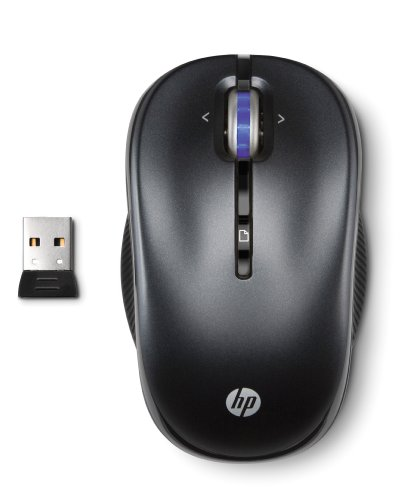 HP 2.4GHz Wireless Optical Mobile Mouse Charcoal