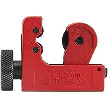 Zilong Tagliatubi Tubo Cutter Essenziale di Taglio per Idraulici, Elettricisti, Veicolo Meccanica Slice 3mm-22mm 1/8inch-7/8inch od Rame Ottone Alluminio