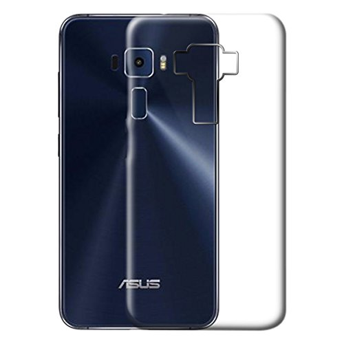 ECS Back Case Premium Quality Transparent Soft Back Case Cover For Asus Zenfone 3 ZE552KL (5.5 Inch)
