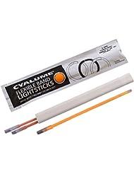 Cyalume Sachet de 3 Bracelets Lumineux FlexBand Orange 6 heures 19 cm