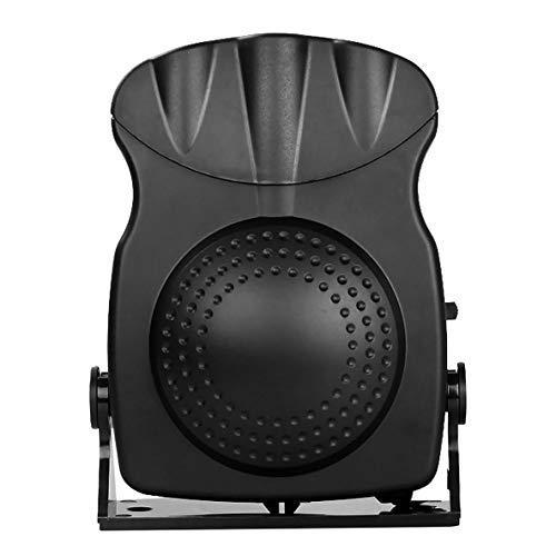 Noradtjcca Sbrinatore del Parabrezza del riscaldatore Caldo Caldo del Ventilatore del radiatore dell'automobile di 12V 150W
