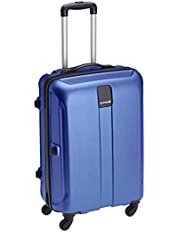 Safari Thorium Polycarbonate 66 (cms) Blue Hardsided Suitcase (Thorium-Stubble-Dazzling-Blue-65-4WH)