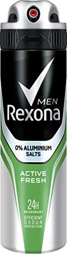 Rexona Men Deospray Active Fresh ohne Aluminium,...