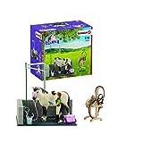 Schleich- Waschplatz Schleich-42104-Accessoire pour Figurine-Box De Lavage pour Chevaux, 42104, Andere