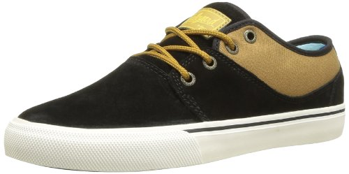 Globe Mahalo, Unisex-Erwachsene Sneakers, Schwarz (20054 black/brown), 46 EU (11 Erwachsene UK / 12 US) (Schuhe Circa Herren)