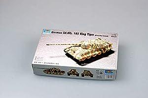 Trumpeter 7202  - Alemán de vehículos Especiales 182 King Tiger (Porsche Torreta)