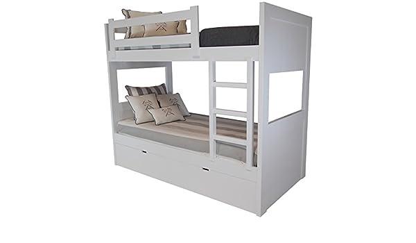 Etagenbett Drei Schlafplätzen : Amazon sueñomueble u etagenbett schlafplätze mdf cm
