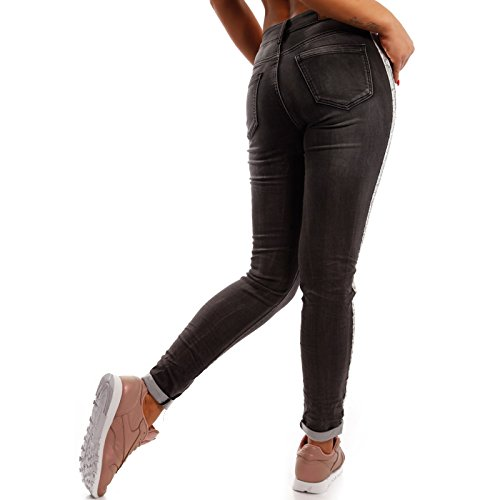 Made Italy -  Jeans  - skinny - Basic - Donna Anthrazit