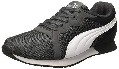 Puma Unisex Iron Gate Black White Sneakers - 8 UK/India (42 EU)(4059507837264)