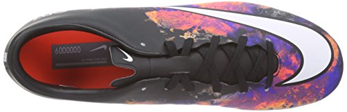 Nike Uomo Mercurial Victory V Cr Fg scarpe da calcio Nero / bianco / arancio (nero / bianco-Total Crimson)