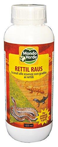 Mondo Verde - REP94EP-Repellente Rettile da 1000ml, Colore: Bianco