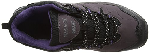 Regatta Damen Lady Holcombe Low Trekking-& Wanderhalbschuhe Violett (Shark/Blackb)