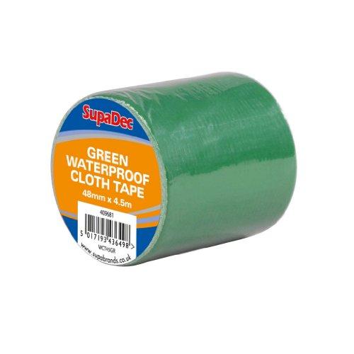supadec-bande-impermeable-a-leau-de-tissu-48mm-x-45m-vert