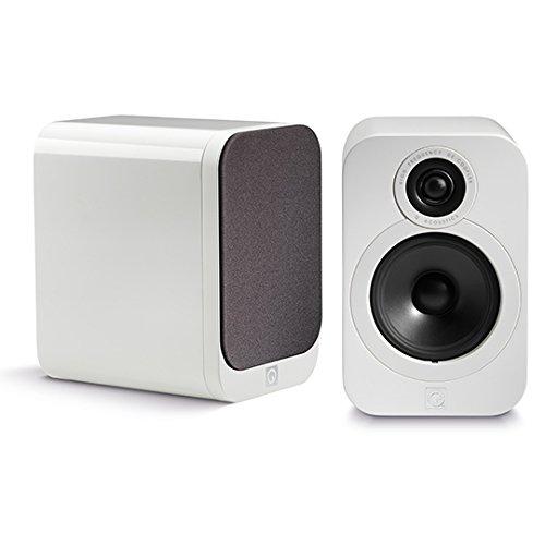 Q Acoustics Regal-Lautsprecher 3020, lackiert, Weiß, 2 Stück