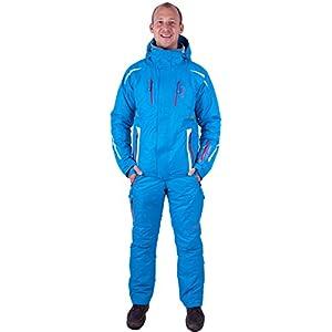 Almwerk Herren Skijacke und Skihose 2.TLG in blau, Größe:M