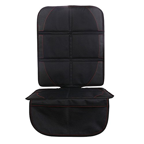 domybest schwarz Autositz Displayschutzfolie Matte Auto Babyschale Bezug Sitz Saver mit Einfach zu reinigen Displayschutzfolie Sicherheit rutschfeste Kissenbezug (Sitz Saver)