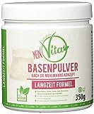 MeinVita Basenpulver, Dr.Mehlmann Konzept - Langzeit Formel - Stoffwechsel - Zink - Magnesium - Calcium - 100% Vegan (350 g)