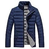 OHQ Herren Daunenjacke Basic Down Jacket, in Beutel verstaubar