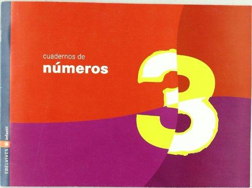 Cuaderno 3 de numeros (Infantil)