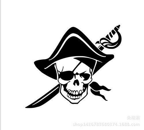 Auto-Aufkleber Merchandiseprodukte Aufkleber der aufkleber Karibik Piraten Auto Aufkleber - Karibik Piraten Auto Aufkleber Piraten Kopf Aufkleber - Gelb Benötigen Sie Größe kontaktieren Sie mich