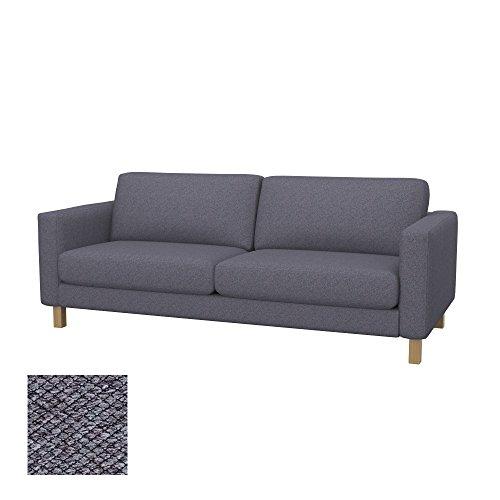 Soferia - IKEA KARLSTAD Funda para sofá Cama de 3 plazas, Nordic...