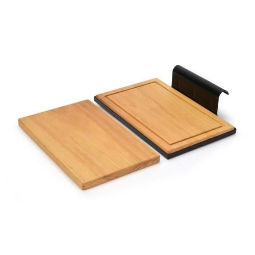 Barbecook ZIJTAFEL Table d'appoint GO, Marron, 35x10x22 cm