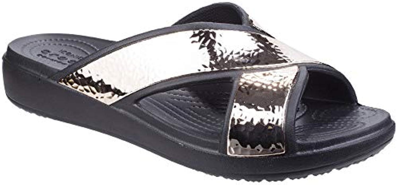 les crocos crocos crocos femmes est sloane bourré xstrap diapositive léger beach & piscine b07bh4dvrv parent   Beau  537a5a