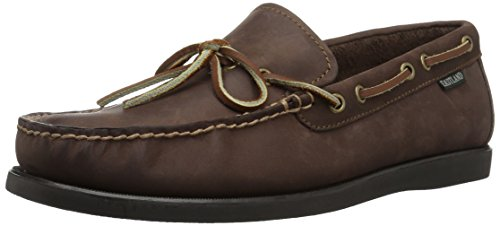Eastland Men's Yarmouth One Eye Camp Moc,Bomber Brown,11.5 D US Eye Moc