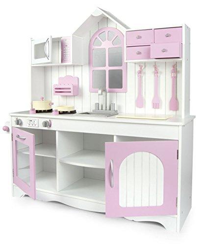 Royal pink Kitchen Kinderküche aus Holz Royal Rosa
