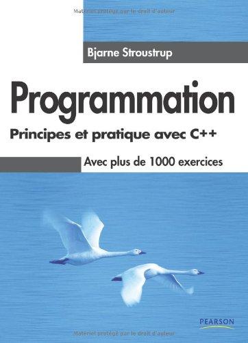 Programmation - Principes et pratique avec C++