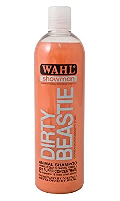 Wahl Showman Dirty Beastie Shampoo by Trilanco Ltd