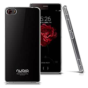 Heartly Imak Crystal Clear Hot Transparent Thin Hard Best Back Case Cover For ZTE Nubia Z9 Dual Sim