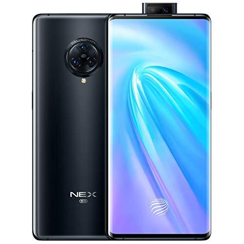 VIVO NEX 3 5G Mobile 8GB+256GB 6.89' Super AMOLED Snapdragon 855 Plus Android 9 (8GB+256GB, Negro)
