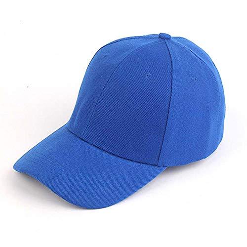 A-HXTM Cap baseballmütze Herren Damen Baseballmütze Outdoor Sonnenhut Schwarz Fashion Hysteresenhut Weiß Streetwear Hip Hop Cap s B