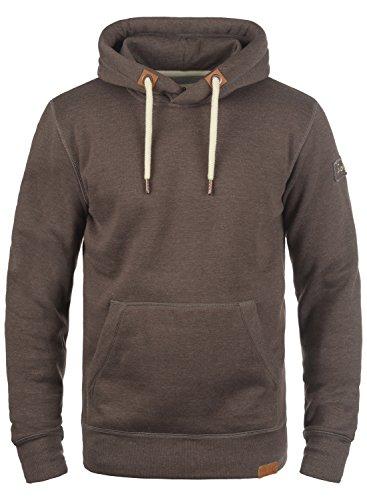 SOLID TripHood Herren Kapuzenpullover Hoodie Sweatshirt aus hochwertiger Baumwollmischung Coffee Bean Melange