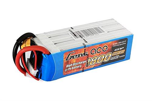 Galleria fotografica Gens ace - Lipo Batteria 1800mAh 22.2V 45C 6S1P per Quadricottero, FPV, Racing Modellini di Elicotteri Aerei e Barche