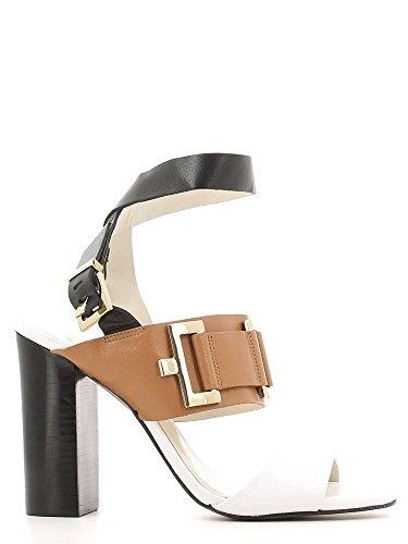 GRACE SHOES 22-87140 Sandalo tacco Donna Nero