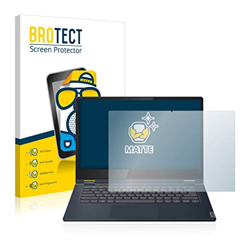 "BROTECT Entspiegelungs-Schutzfolie kompatibel mit Lenovo IdeaPad C340 (14\"") Displayschutz-Folie Matt, Anti-Reflex, Anti-Fingerprint"