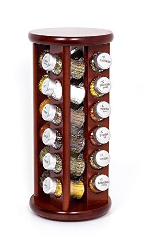 gald-poland-rastrelliera-girevole-per-le-spezie-e-per-lerba-legno-barattoli-di-vetro-gald-24-marrone