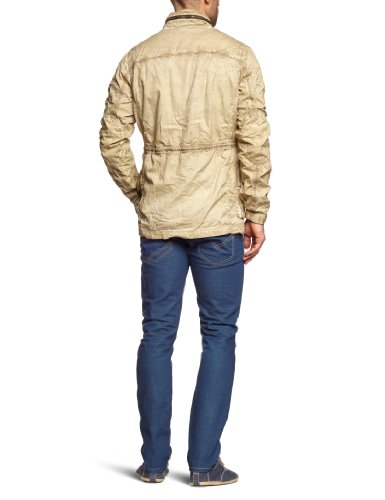 Pepe Jeans - Veste - Col mao - Manches longues Homme Beige - Beige (putty)