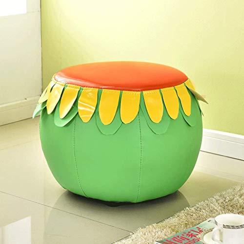 JFFFFWI Obst Sofa Kreative PU Schuh Bank Multifunktionale Kunststoff Wohnzimmer Schlafzimmer Kleine Bank Balkon Kinder (Farbe: 1) -