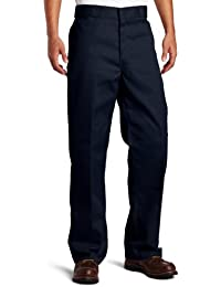 Dickies Hombres Pantalones / Chino Double Knee Work