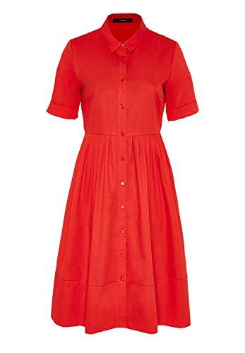 hallhuber-hemdblusenkleid-mit-falten-auf-figur-geschnitten-mit-ausgestelltem-rockteil-tomate-38