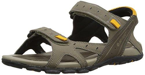 Hi-Tec - Laguna Strap, sandali  da uomo, beige(beige (dark taupe/light taupe/gold 041)), 44