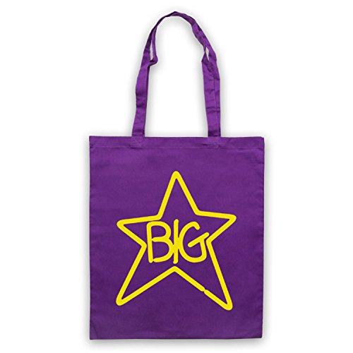 Inspiriert durch Big Star Logo Inoffiziell Umhangetaschen Violett