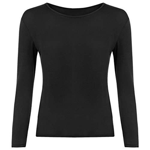 Ladies Long Sleeve T-Shirt Top Womens Size 8 - 14 Test