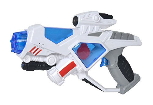 Simba 108042206 - Planet Fighter Space Defender Laserpistole, 29 cm
