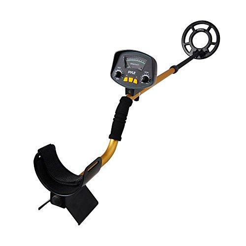 Pyle phmd53–Schatzsuche Metalldetektor mit wasserdichter Wasserdicht bis search-coil–10Level Diskriminierung–Eingebaute Lautsprecher und Kopfhöreranschluss (Nicht-eisen-pinpoint)