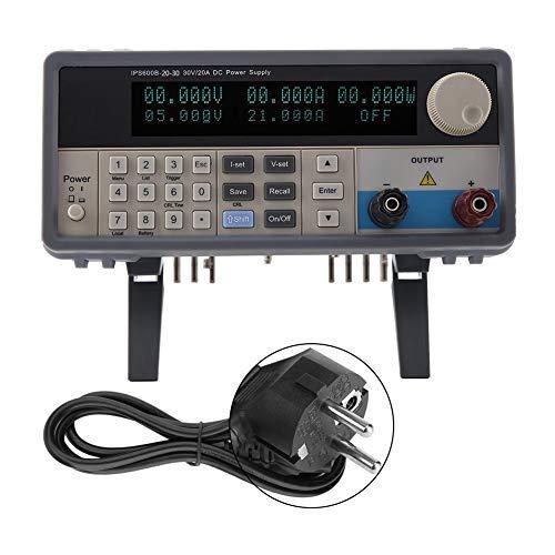 AC 220V Netzteil, IPS-600B-20-30 20V 30A programmierbares Netzteil EU-Stecker AC 220V Stromzähler IPS-600B-20-30 programmierbares Netzteil